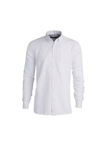 Bad Bear Erkek Beyaz Gömlek Oxford Shırt Beyaz